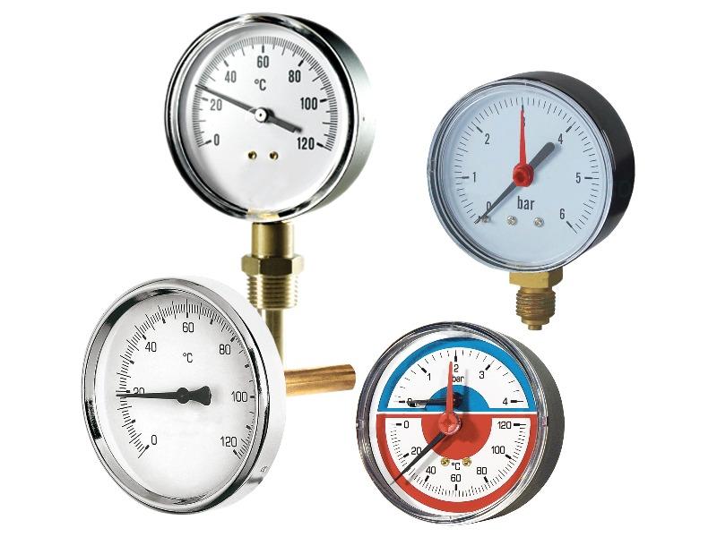 Termometri - Manometri - Accessori