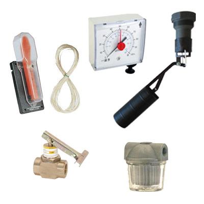 Componenti per impianti a gasolio