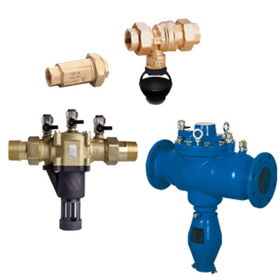 Dispositivi Antinquinamento per reti idriche e impianti