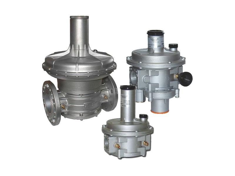 Regolatori e filtri regolatori di pressione per gas